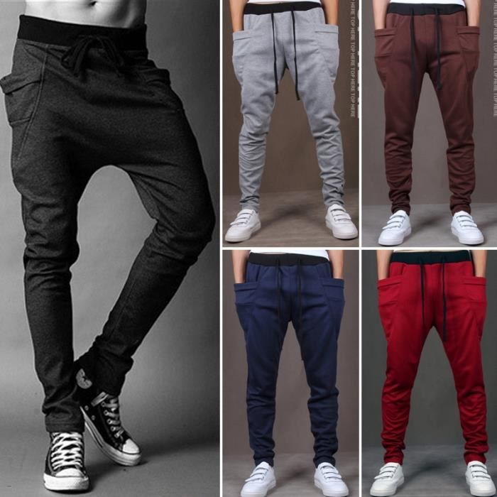 Hot Pants 2015 Automne Hommes, Pantalons Mode Hommes Sport, Casual Slim Fit Mens Joggings Sweat