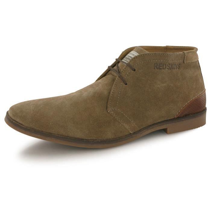 Redskins Limou marron, boots homme