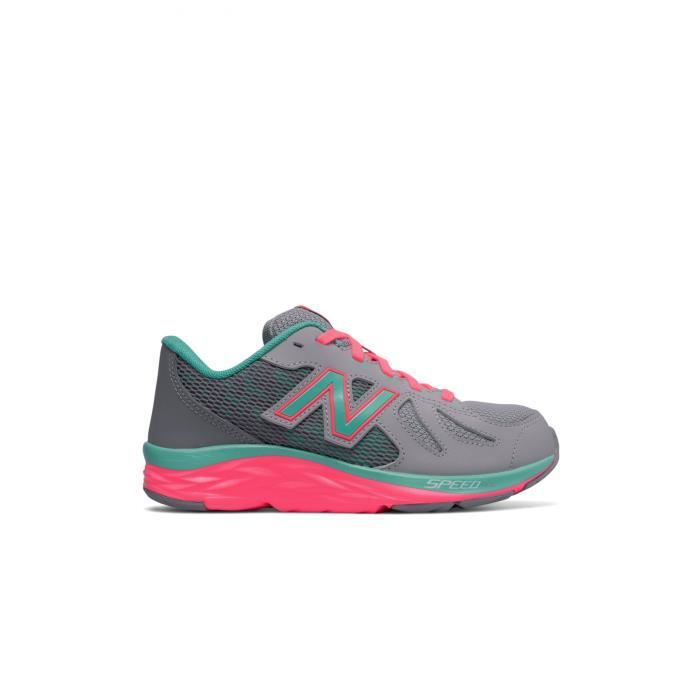 8a0a8d82b7e29 Baskets Enfant Kj790gny - New Balance Gris Gris orange - Achat ...