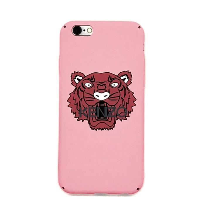 Kenzo Coque Apple Coque Iphone 8 8s Kenzo Tiger Coque Rose