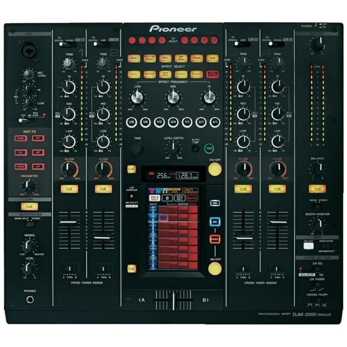 Table de mixage DJ Pioneer DJM-2000NXS - table de mixage