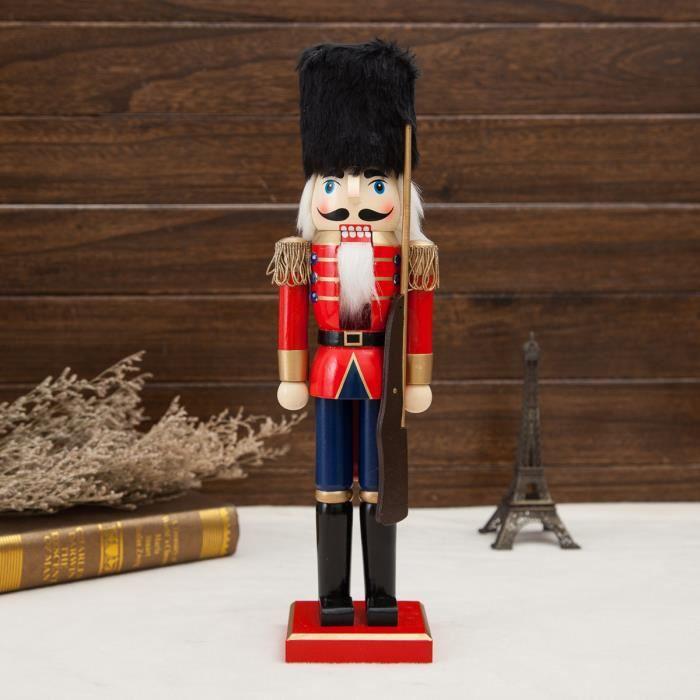 38cm Casse Noisette En Bois Soldat Décor Noël Vintage Artisanat Cadeau 4 Achat Vente Casse Noix Noisettes 38cm Casse Noisette 4 Cdiscount