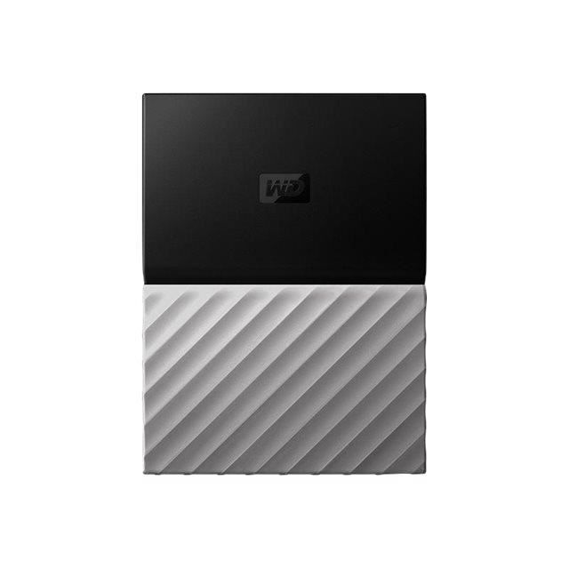 DISQUE DUR EXTERNE WESTERN DIGITAL My Passport Ultra - 4To - Gris