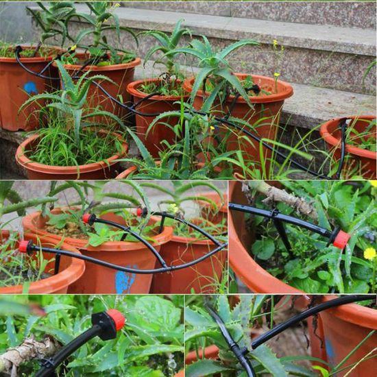 à-goutte Irrigation Arrosage Automatique Jardin Serre Plant 92m Micro Goutte