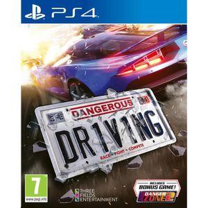 JEU PS4 Dangerous Driving Jeu PS4