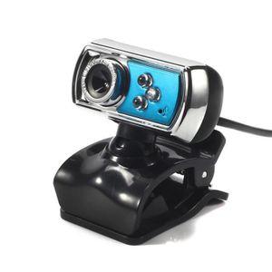 WEBCAM Caméra web caméra webcam 3 LED USB 2.0 HD avec mic