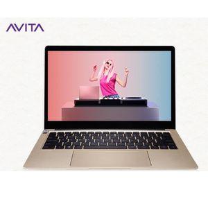 """Achat PC Portable AVITA PC Portable 13,3""""FHD - Intel Core i5-8250U - RAM 8 Go - Disque Dur 256Go - WiFi - Windows 10 - Champagne or pas cher"""