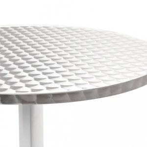 TABLE DE JARDIN  Tables d'exterieur vidaXL Table de jardin ronde Al
