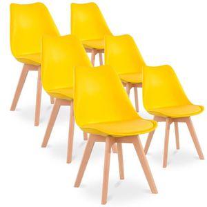 style 6 Lot scandinave chaises de LqUGSpzVM