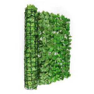 CLÔTURE - BARRIÈRE Blumfeldt Fency Bright Leaf Clôture pare-vue Parav