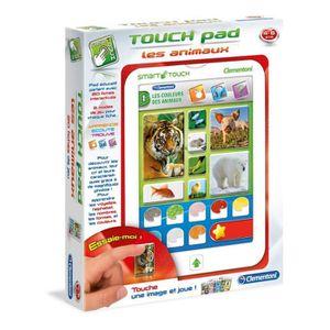 JEU CONSOLE ÉDUCATIVE CLEMENTONI Touch Pad  Animaux