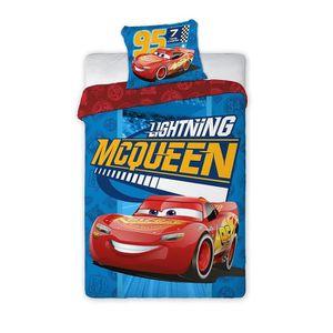 HOUSSE DE COUETTE SEULE Parure de lit Cars Disney - 100% Coton Housse de c
