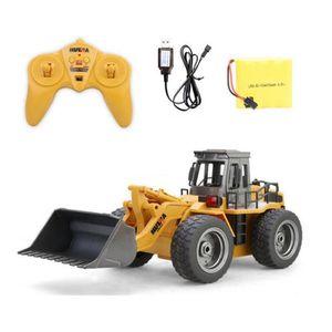 TRACTEUR - CHANTIER Bulldozer Jouet Véhicule de Construction Camion Vé
