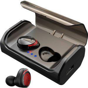CASQUE - ÉCOUTEURS GOBRO Écouteur Bluetooth 5.0 Oreillette sans Fil C