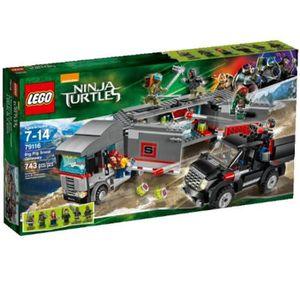 ASSEMBLAGE CONSTRUCTION Jeu D'Assemblage LEGO WCPN9 Ninja Turtles 79116 Bi