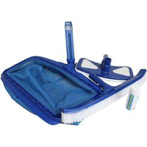ENTRETIEN MANUEL  Kit d'accessoires entretien pour piscine