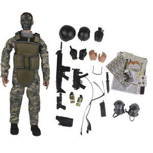 ACCESSOIRE DE FIGURINE ACCESSOIRE DE FIGURINE 1 x Police militaire Soldat