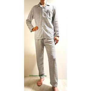 Pyjama homme avec boutons achat vente pyjama homme for Pyjama homme chaud