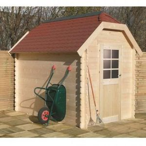 ABRI JARDIN - CHALET GALWAY 4,79m² oiture Shingle rouge, Plancher Non S