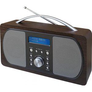 RADIO CD CASSETTE SOUDMASTER DAB600DBR Radio numérique DAB + / FM