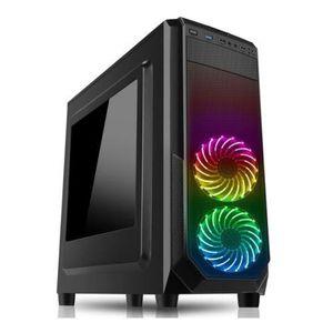 BOITIER PC  Spire PRISM ATX Gaming Case avec fenêtre, No PSU,