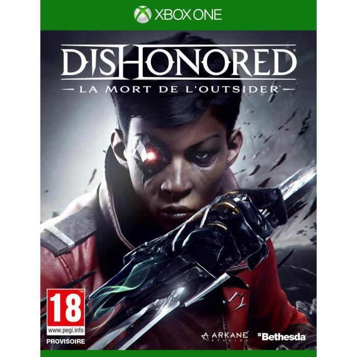 Dishonored : La Mort de l'Outsider Jeu Xbox One