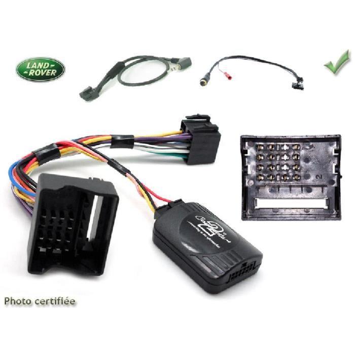 Interface Cde au Volant Land Rover 04-06 Fakra JVC - ADNAuto - ADN-CAV
