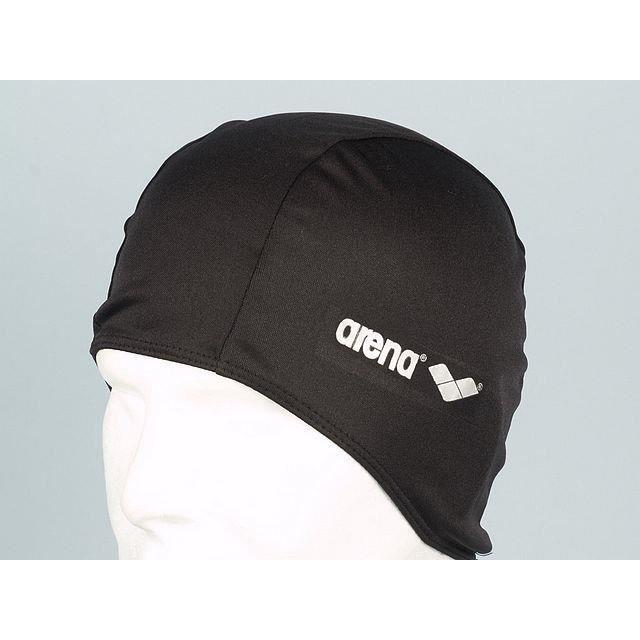 Polyester bonnet de bain noir