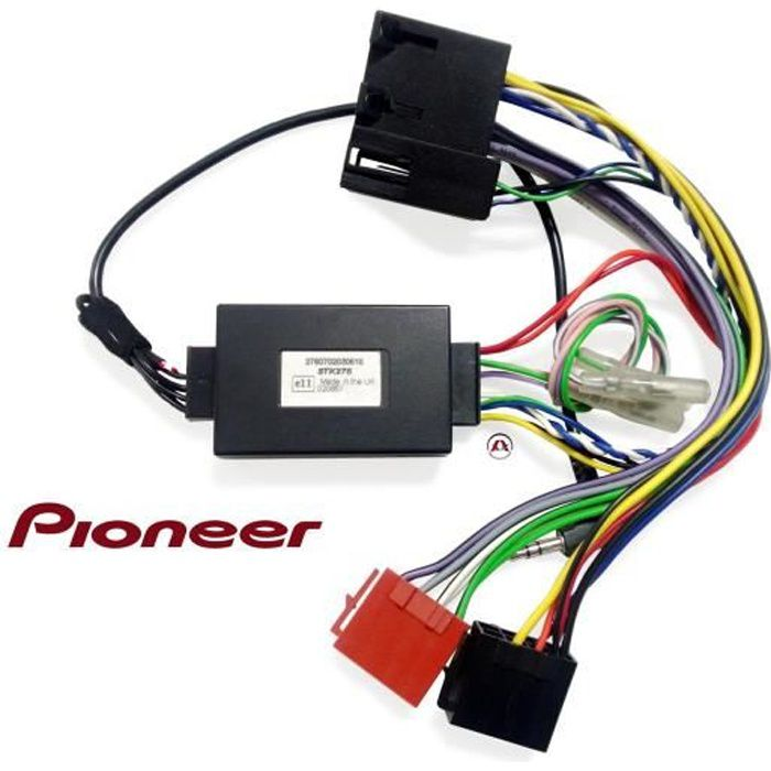 CTSFA006. Interface commande au volant pour Citroen/Fiat/Peugeot.
