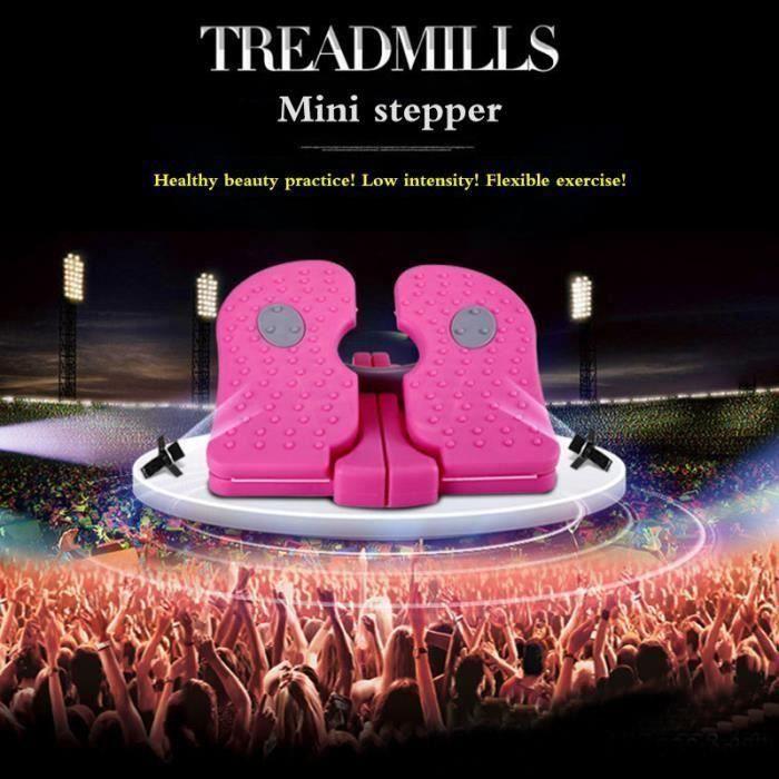 Stepper Household muet tapis roulant portable in-situ escalade pédale pied multifonctionnel équipement de fitness-Couleur aléatoire