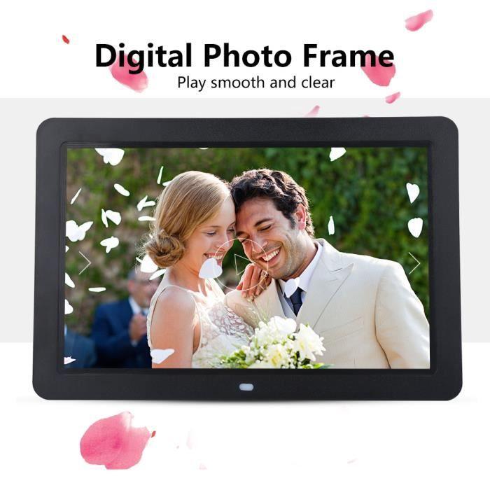 Cadre Photo De Numérique Écran HD Album Photo Digital MP3 MP4 Vidéo Lecteur
