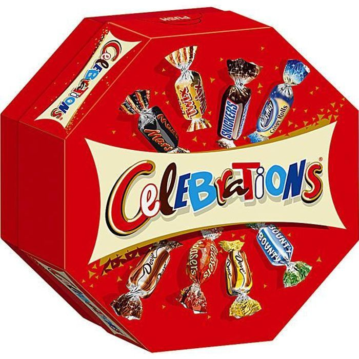 Mars Celebrations 186g (Pack de 8)