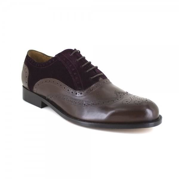 Richelieu J.Bradford Cuir Marron JB-SIR - Couleur - Marron