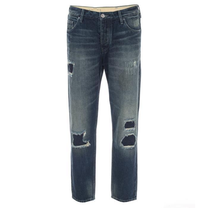 Jean Armani Jeans 990 Pour Homme En Bleu Denim.