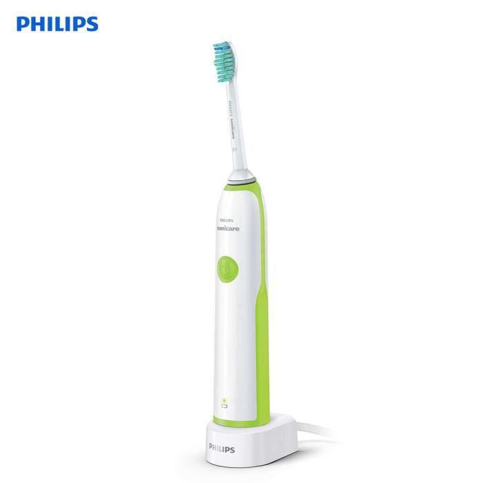 Brosse à dents électrique PHILIPS Sonicare HX3216 Brosse à dents vibrante Sonic pour adultes Brosse à dents électrique rechar_Regisi