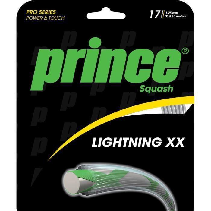 Cordage Prince Lightning XX 17 coloris Blanc