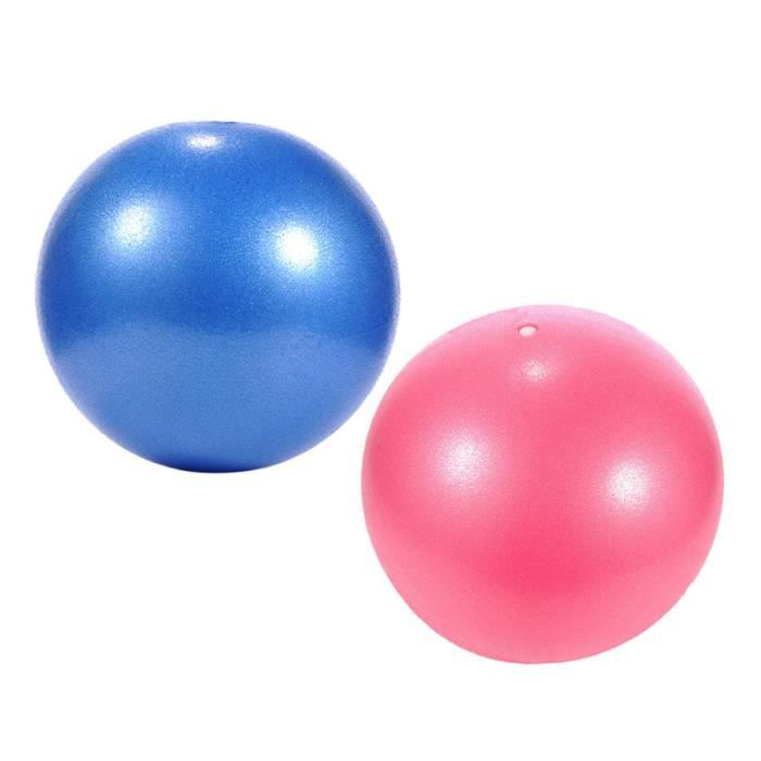 2 pcs Yoga Pilates Petit Ballon D'exercice Exercices Core Renforcement TAPIS DE SOL - TAPIS DE GYM - TAPIS DE YOGA