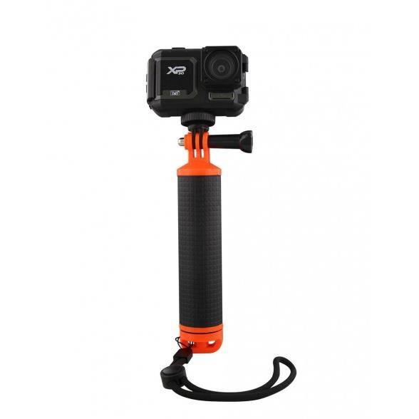 TNB SPACFLOT2 - SPORT - Poignée flottante pour caméra - noir & orange