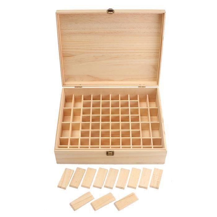 HUILE ESSENTIELLE 68 Slot Aromathérapie Huile Essentielle Bouteille