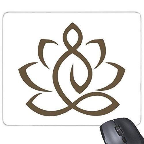 Bouddhisme Religion Bouddhiste Lotus Figure Simple Dessin Au Trait