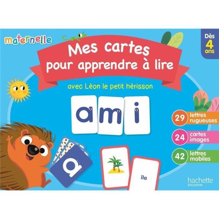 Livre Mes Cartes Pour Apprendre A Lire Avec Leon Le Herisson Achat Vente Manuel Maternelle Cdiscount