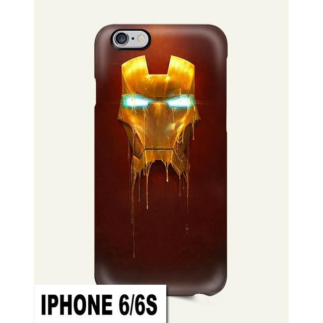coque iphone 6 6s iron man
