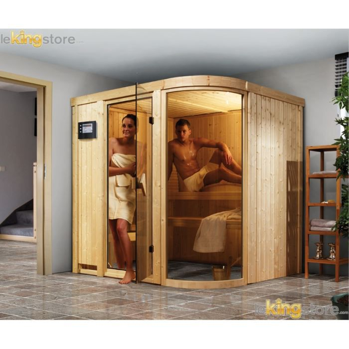 plan sauna finlandais maison design. Black Bedroom Furniture Sets. Home Design Ideas