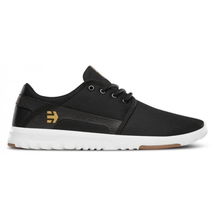 CHAUSSURES ETNIES SCOUT BLACK WHITE GUM skateshoes