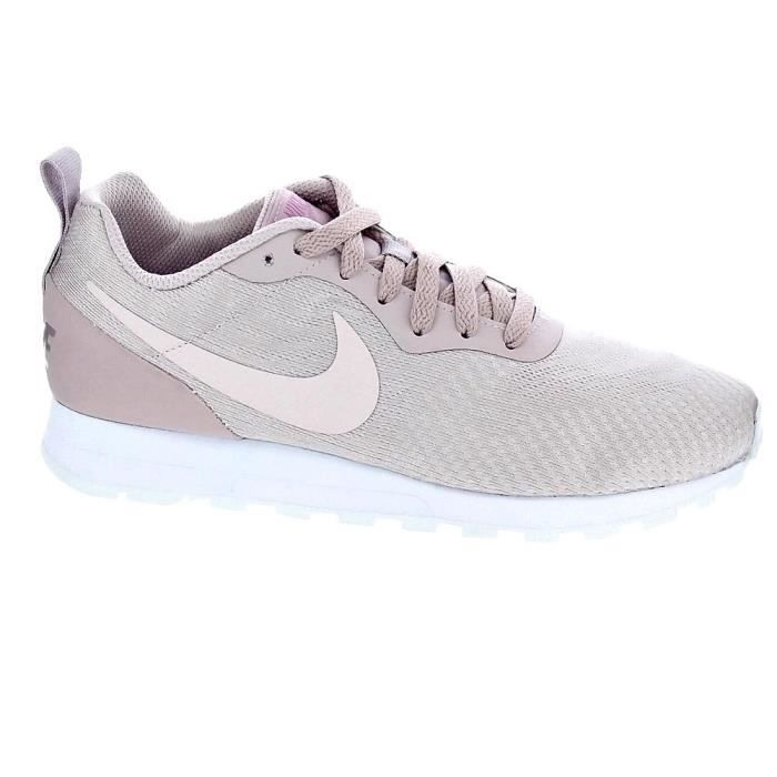 Contando insectos recurso multitud  Baskets basses - Nike Md Runner 2 Femme Rose Rose - Achat / Vente basket -  Cdiscount