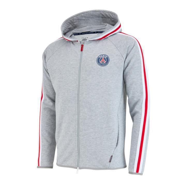 CASQUETTE Veste Sweat zippéé à capuche PSG - Collection offi