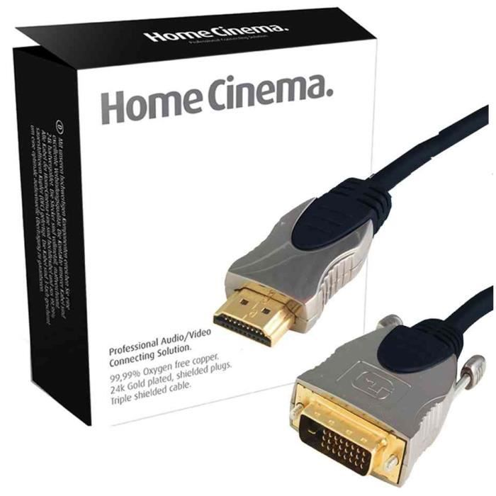 professional c ble hdmi connecteur hdmi prix pas cher. Black Bedroom Furniture Sets. Home Design Ideas
