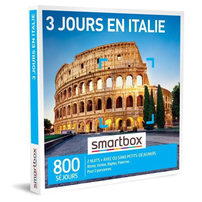 COFFRET SÉJOUR Coffret Cadeau - 3 jours en Italie - Smartbox