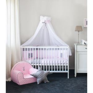 ciel de lit bebe fille achat vente ciel de lit bebe fille pas cher cdiscount. Black Bedroom Furniture Sets. Home Design Ideas