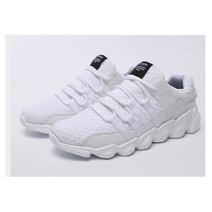Chaussure Respirant Chaussures Sport Ultra BGD Baskets Homme Jogging XZ229Blanc39 Léger hiver Sxqwa75O